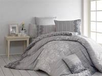 Двуспальный Евро комплект постельного белья NAZENIN KERRY-MAVI