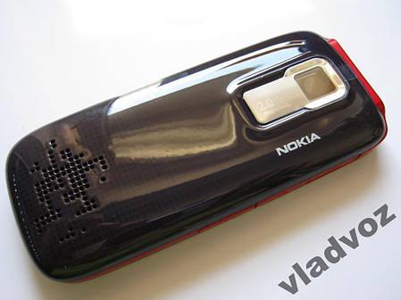 Корпус для Nokia 5130 красный  клавиатура class 2A, фото 2