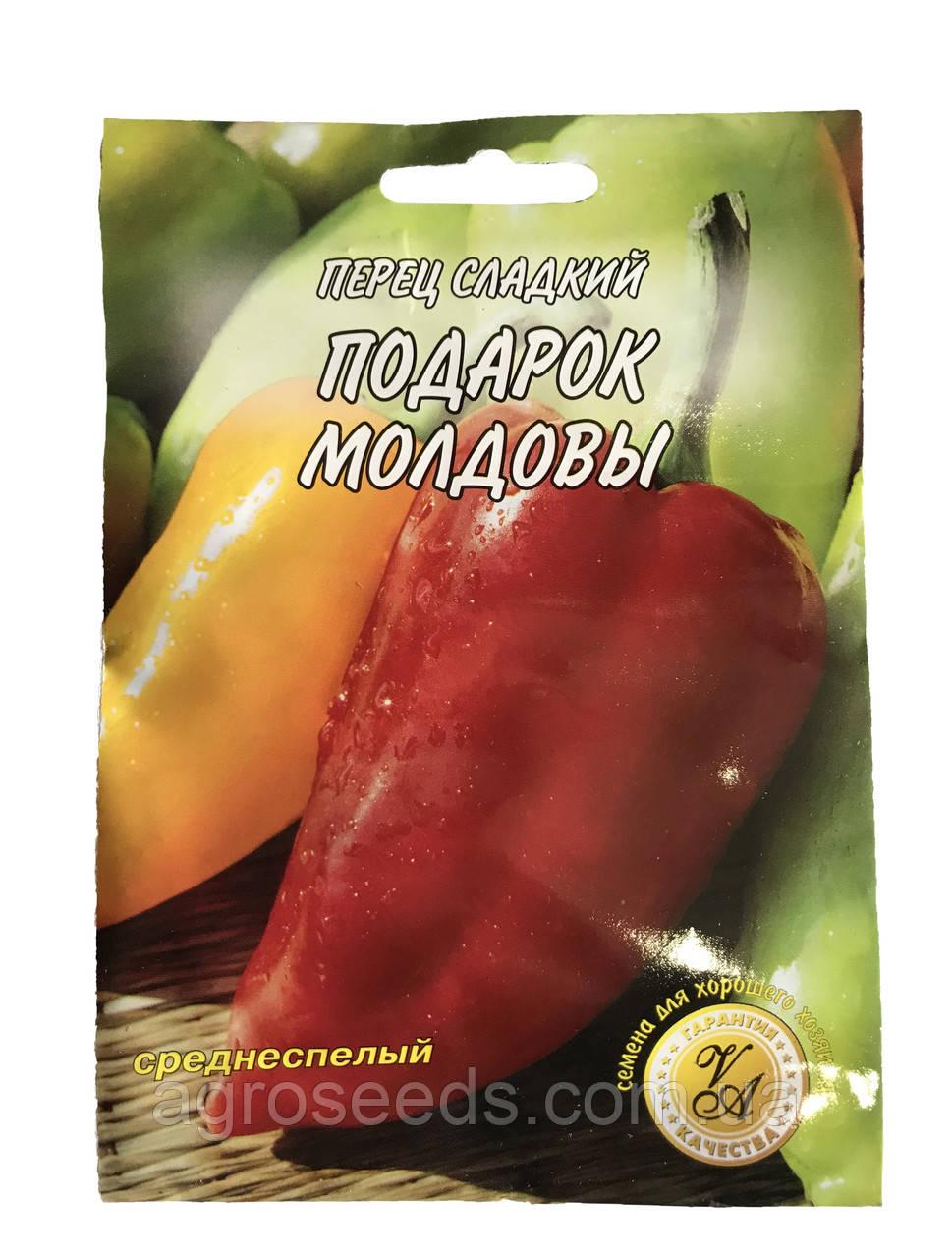 Семена перца Подарок Молдовы 3 г
