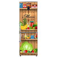 Наклейки для холодильника комплект Продукты