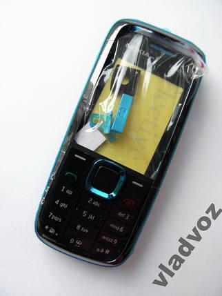 Корпус для Nokia 5130 синий с кнопками class 2A, фото 2