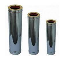 Трубы дымоходные из нержавеющей стали с термоизоляцией