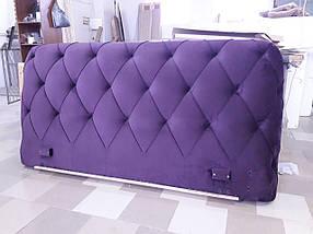 Кровать двуспальная Люкс Сиенна без матраса с ящиком для белья, фото 3