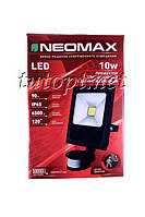 "Прожектор Светодиодный NeoMax NX10 10W ""Сенсор"" LED IP65 6500K 120 градусов"