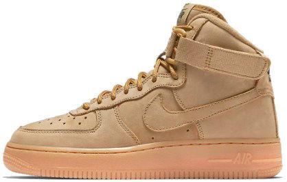 a059cf1f Nike Air Force 1 High Beige | кроссовки мужские; высокие; бежевые - BOOT  CLUB