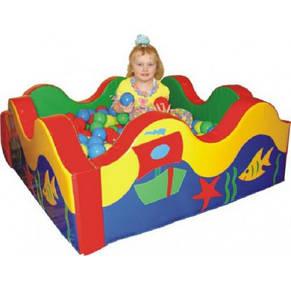 """Сухой бассейн для детей """"Волна"""" 120х120х40 см, фото 2"""