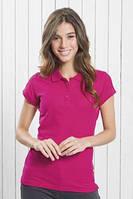 Поло футболка женская, высокое качество, JHK T-shirt , Испания, все цвета, 100% хлопок, размеры от S до 2XL