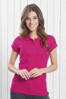 Женская футболка поло JHK T-shirt Popl 200 разные цвета