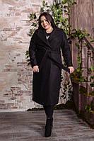 Подовжене пальто двобортне, з 48-82 розмір, фото 1