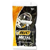 Станок Bic Metal 10 штук в упаковке одноразовый