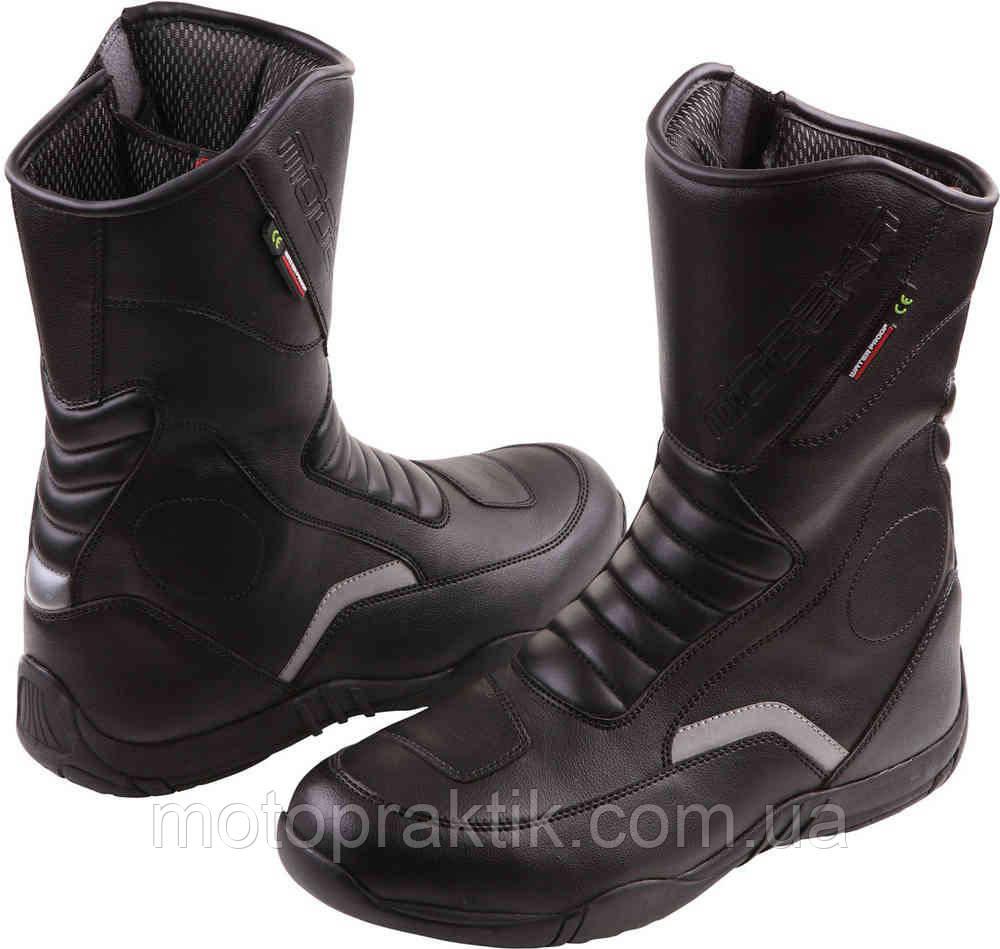 Modeka Blaker Boots Black, EU37 Мотоботы дорожные