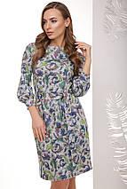 Женское ангоровое платье с узором(1764mrs), фото 2