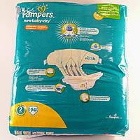 Подгузник детский Pampers active new baby-dry 2, 3-6кг 94шт