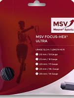 Теннисные струны MSV Focus HEX Ultra bk 12m