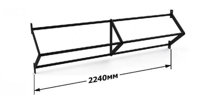 Турник треугольный 2240 мм