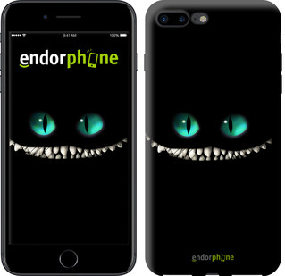 "Чехол на iPhone 7 Plus Чеширский кот ""689c-337-571"""