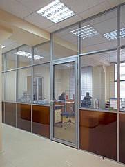 Перегородки офисные, изготовление и монтаж