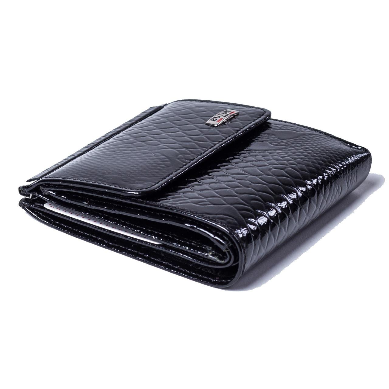 Женский кошелек BUTUN 590-008-001 кожаный черный