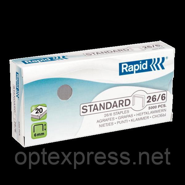 Cкобы Rapid Standard 26 1M