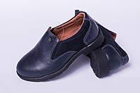 Детские туфли из натуральной кожи, детская обувь кожаная от производителя модель ДЖ3910