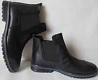 Женские стильные ботинки в стиле Timberland челси натуральная кожа оксфорд батал, фото 1