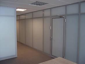 Офисные перегородки из стекла, изготовление и монтаж