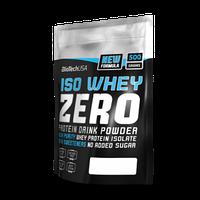 Изолят протеина IsoWhey Zero Lactose Free Вкус: клубника Вес: 500 гр BIOTECH USA
