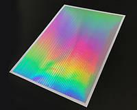 Наклейки Голографические ленты 1-3мм Серебро