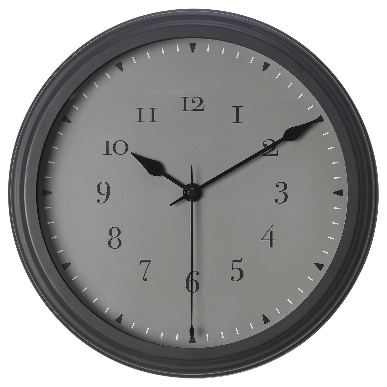 """ИКЕА """"ВИСШАН"""" Настенные часы, 30см."""