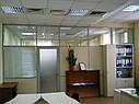 Перегородки из стекла и ДСП, изготовление и монтаж, фото 2