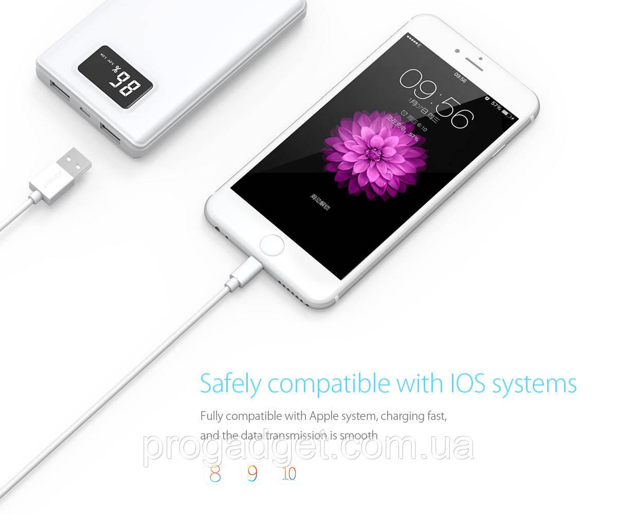 ORICO LTG-10 USBdata cable 1 м экранированныйLightningкабель для продуктов Apple Iphone, ipad 2A