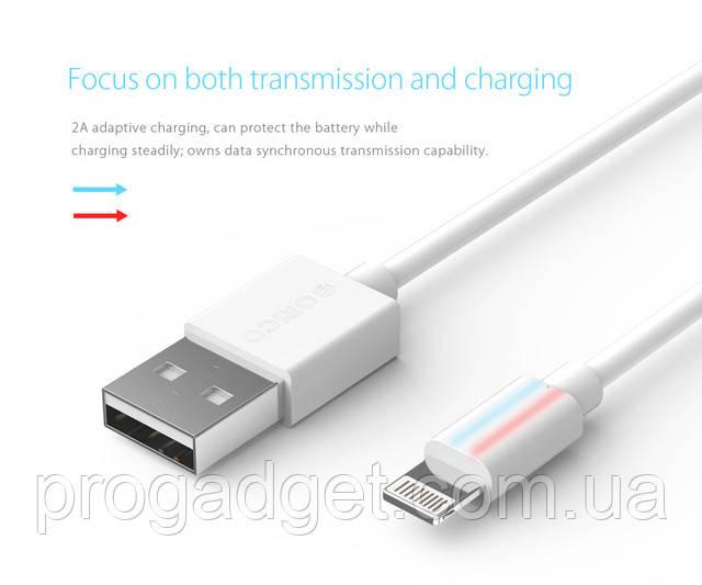 ORICO HTF-10 USBdata cable 1 м экранированныйLightningкабель для продуктов AppleIPhone, IPad