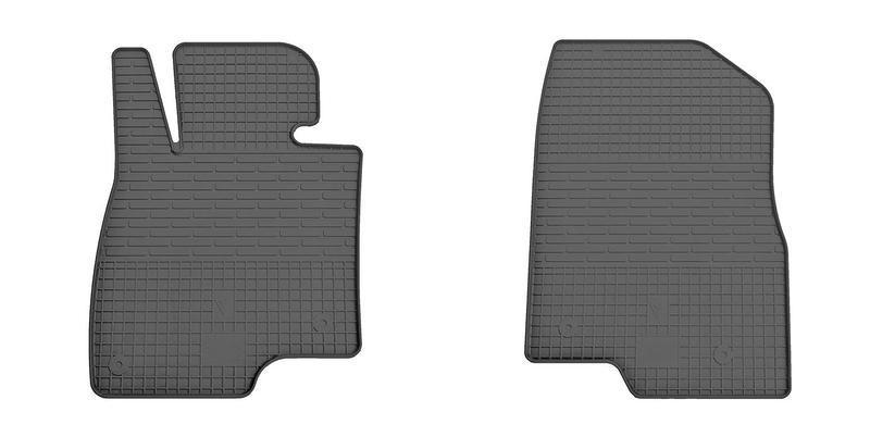 Резиновые коврики в салон Mazda 6 2013- (ПЕРЕД) (Stingray)