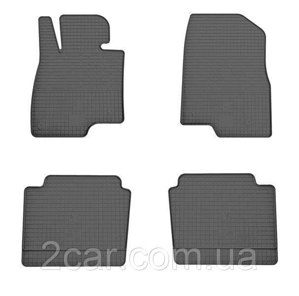 Резиновые коврики в салон Mazda 6 2013- (Stingray)