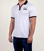 Мужская футболка ПОЛО Armani молния, фото 1