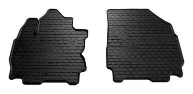 Резиновые коврики в салон Nissan Note 2005- (ПЕРЕД) (Stingray)