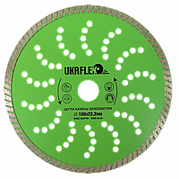 Диск алмазный 180*22,2мм Турбо UKRflex