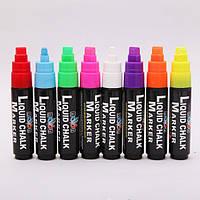 Меловой маркер Liquid Chalk ( 10мм. прямоугольный)