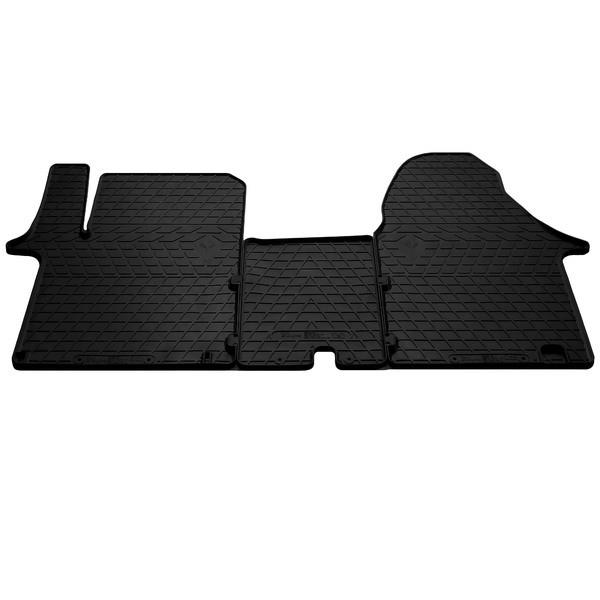 Резиновые коврики в салон Renault Trafic II 2001- (ПЕРЕД) (1+2) (Sting