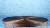 Лента репсовая 10мм коричневый