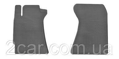 Резиновые коврики в салон Subaru Forester II 2002- (ПЕРЕД) (Stingray)