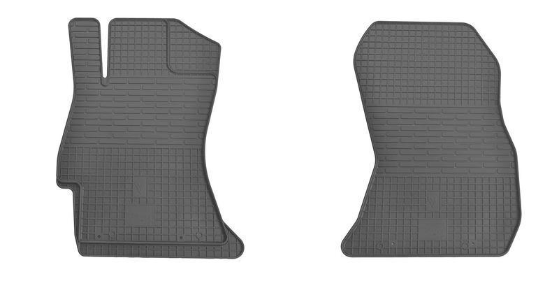 Резиновые коврики в салон Subaru Forester 2012- (ПЕРЕД) (Stingray)