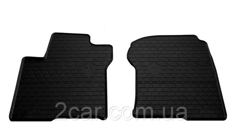 Резиновые коврики в салон Lexus GX II 2010- (ПЕРЕД) (Stingray)