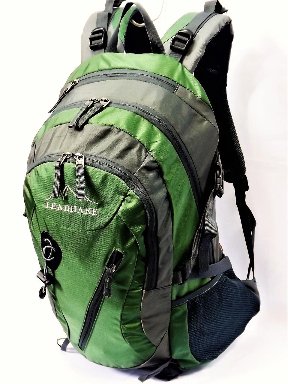 Рюкзак туристический  Leadhake S1004  (38 литров) зеленый