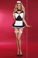 Flirty maid LC L/XL, черный+белый