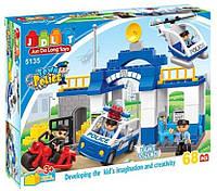 """Конструктор JDLT 5135 (аналог Lego Duplo 5681) """"Полицейский участок"""" 68 дет, фото 1"""
