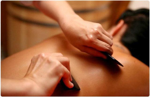 Китайский массаж ГуаШа спины (30-40 мин.)