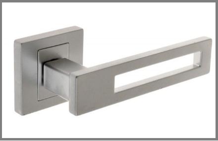 Дверная ручка Nomet  TOM никель матовый G5
