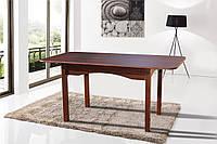 Стол обеденный раскладной Оксфорд 1200(+400)х800х750 (орех темный)