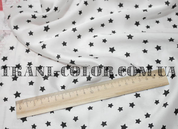 Шёлк армани принт звезды, фото 2